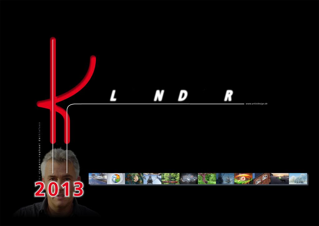 Titel Kalender 2013 Calendar Title