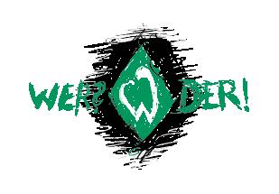 Werder-Logo mit Raute