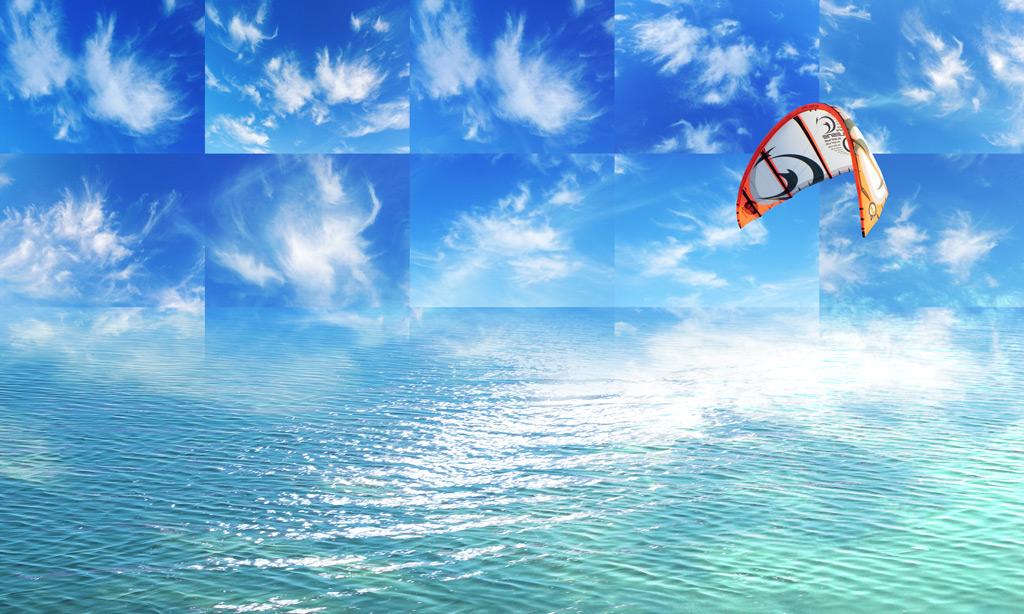 Wasser, Wellen, Wind & Wolken