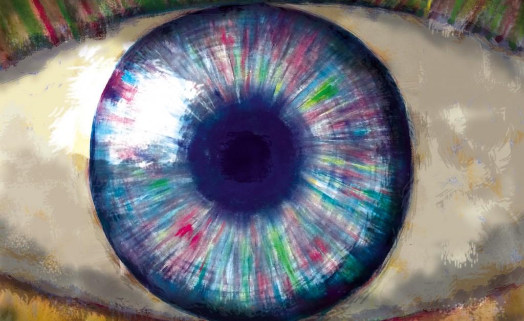 Augebogen | Bent Eye | Ojo flexuoso