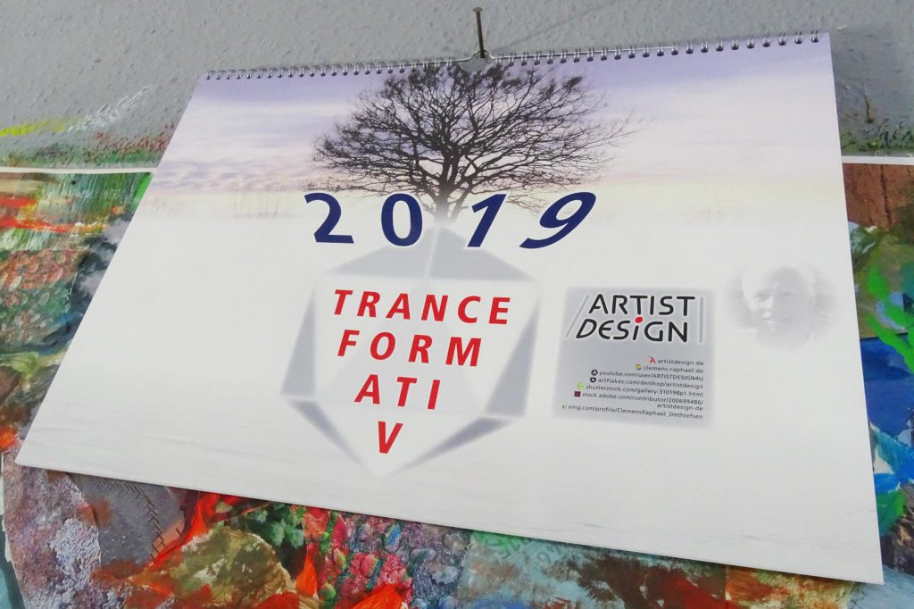 Calendar 2019 in the studio
